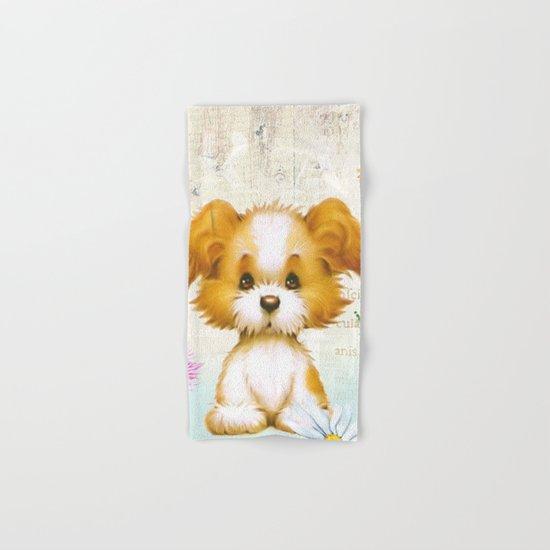 Sweet animal #3 Hand & Bath Towel