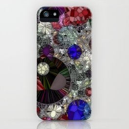 Planets Stardust And Jello Shots iPhone Case