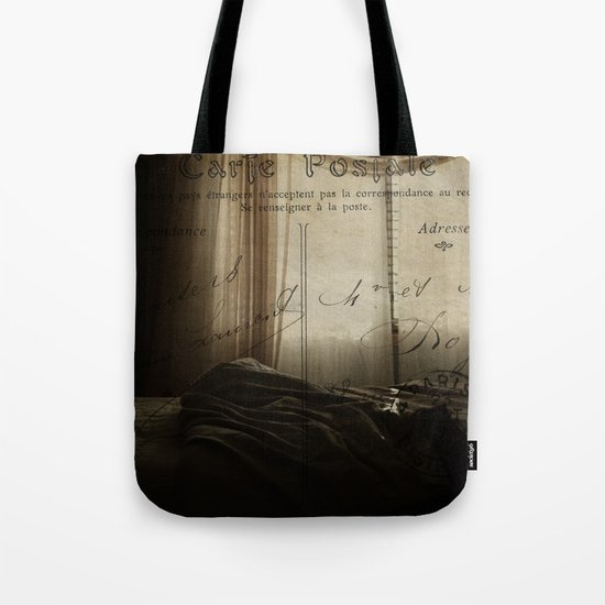 Waking up in Paris Tote Bag
