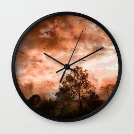 Messengers of Manwë Wall Clock