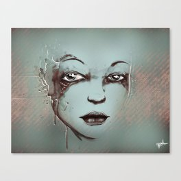Rusted Girl Canvas Print