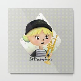 Gelsomina Metal Print
