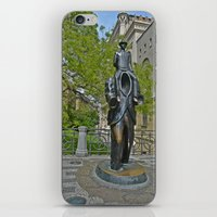 kafka iPhone & iPod Skins featuring Kafka by theartofloganwebb