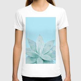 Light Blue Agave #1 #tropical #decor #art #society6 T-shirt