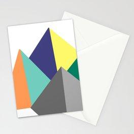 Paku Paku, original colours on white Stationery Cards