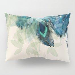 Beautiful Peacock Feathers Pillow Sham