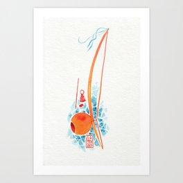 Capoeira 286 Art Print