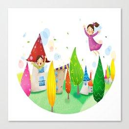 Happy Kids Canvas Print