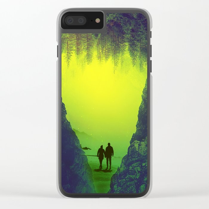 Toxic Forestry Together Clear iPhone Case