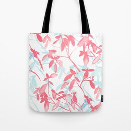 Premonition (Coral Mint) Tote Bag