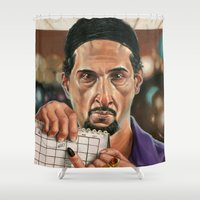 jesus Shower Curtains featuring Jesus Quintana. by Jonathan  Bergeron