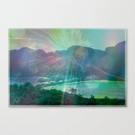 STAY FOREVER BAY Canvas Print