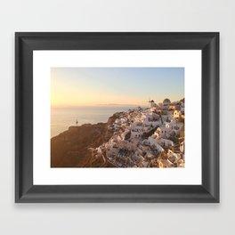 Santorini Framed Art Print