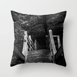 Descent into Madness Throw Pillow