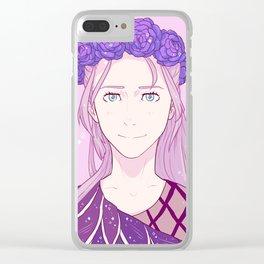 Yuri!!! on Ice: Viktor Nikiforov Long Hair Clear iPhone Case