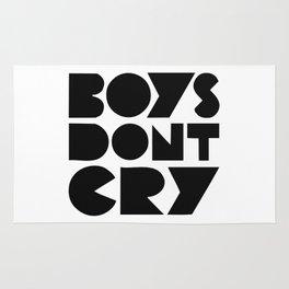BOYS DON'T CRY Rug