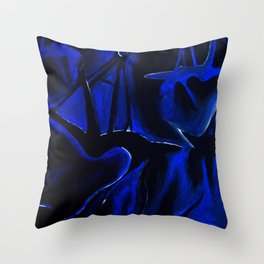 Shadow Flight Throw Pillow