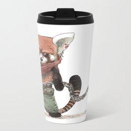Panda Roux Barbare Metal Travel Mug