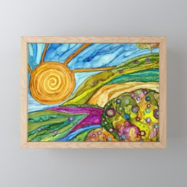 Elia Framed Mini Art Print