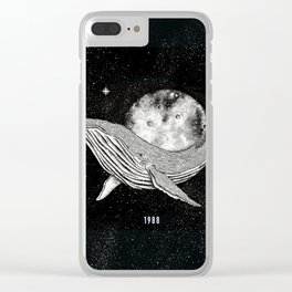 underwather universe Clear iPhone Case