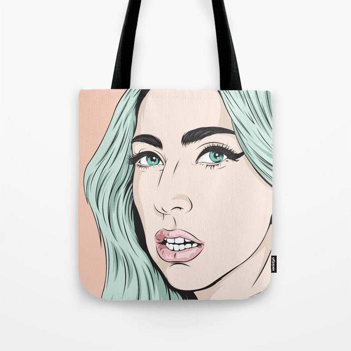 Cold queen Tote Bag