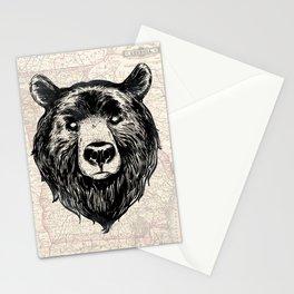 GA bear Stationery Cards