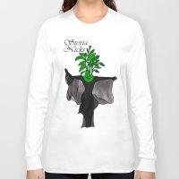 stevie nicks Long Sleeve T-shirts featuring Stevia Nicks by Pattavina