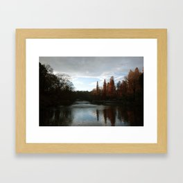 Inokashira park Framed Art Print