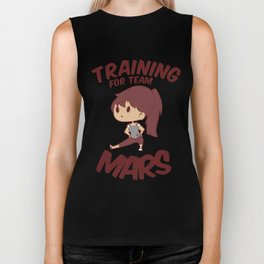 Training for Team Mars Biker Tank