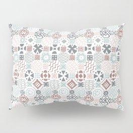 Tiles in neutral colors Pillow Sham