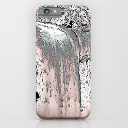 "series waterfall ""Cachoeira Grande"" IV iPhone Case"