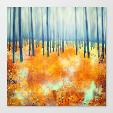 Late Autumn Canvas Print