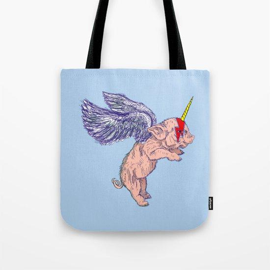 Super Unicorn Piglet Tote Bag