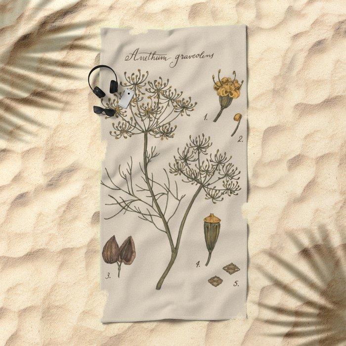 Dill Beach Towel