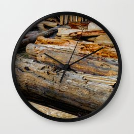 Driven Driftwood Wall Clock