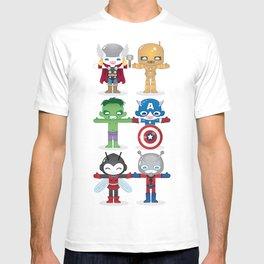 THE ORIGINAL AVENGER'S ROBOTICS T-shirt