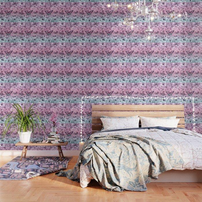 Pastel Unicorn Butterfly Glitter Dream #2 #shiny #decor #art #society6 Wallpaper