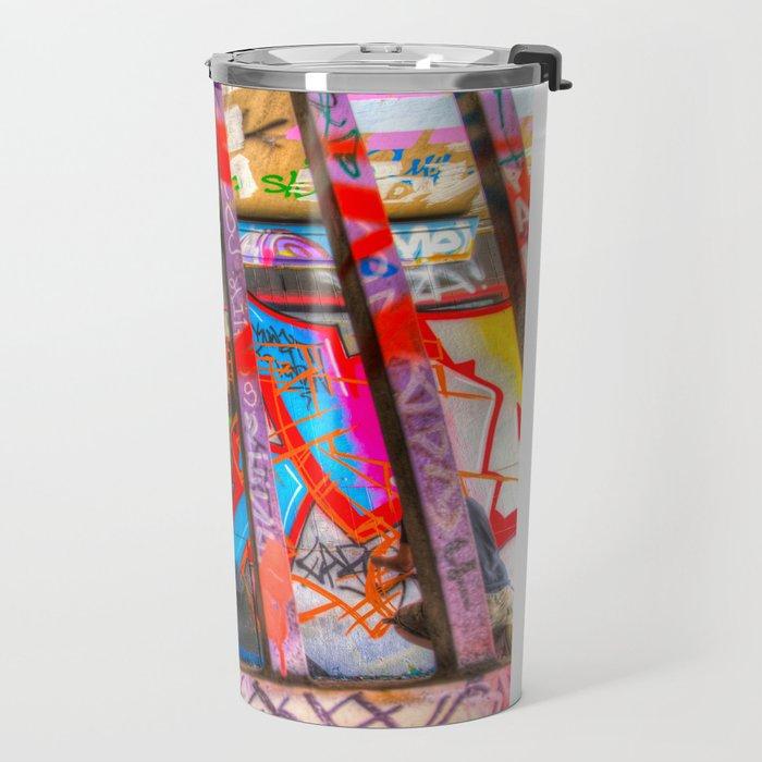Leake Street Graffiti Artist  Travel Mug