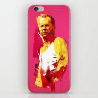 die hard iPhone & iPod Skins featuring Live fast die hard by Robert Farkas