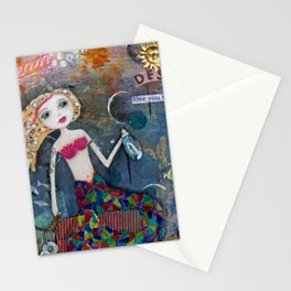 Desired - Romantic Mermaid Stationery Cards