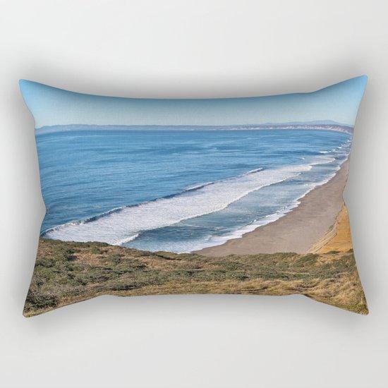 Point Reyes Coastal Scenery Rectangular Pillow