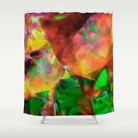 chaos Shower Curtains featuring Chaos by Ray Cowie