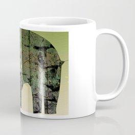 Distressed Elephant Coffee Mug
