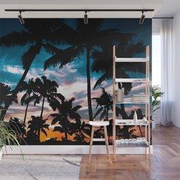 Palm trees dream Wall Mural