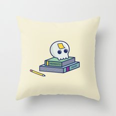 Memento Mori Throw Pillow