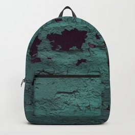 Textured Brick Mint Backpack