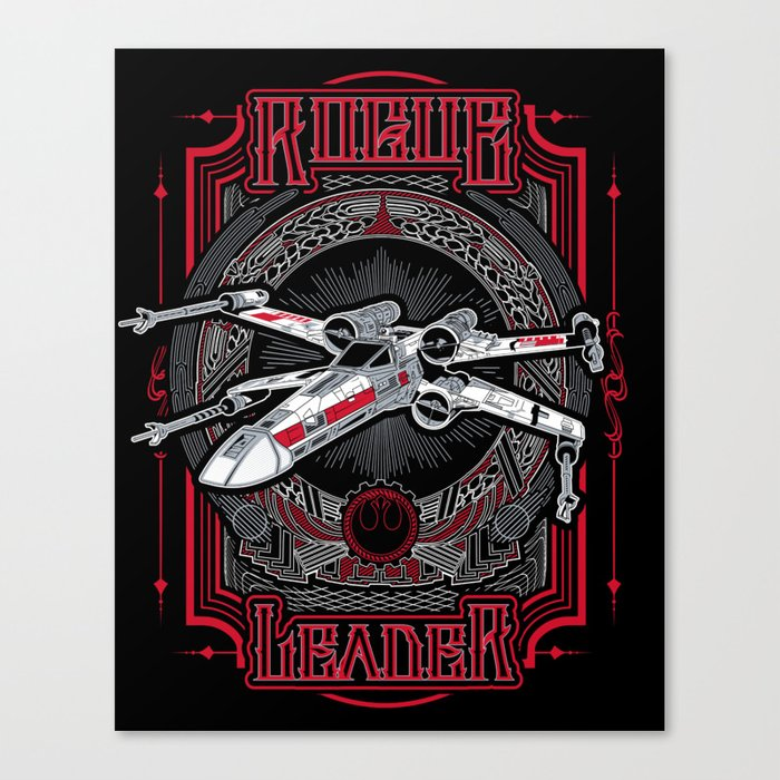 Rogue Leader Canvas Print