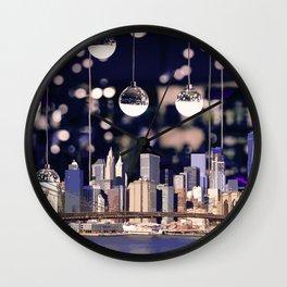 Spotlight on New York Wall Clock