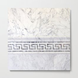 Greek Marble 2 Metal Print