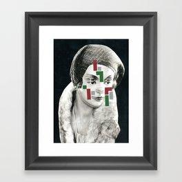 4 eyes Framed Art Print